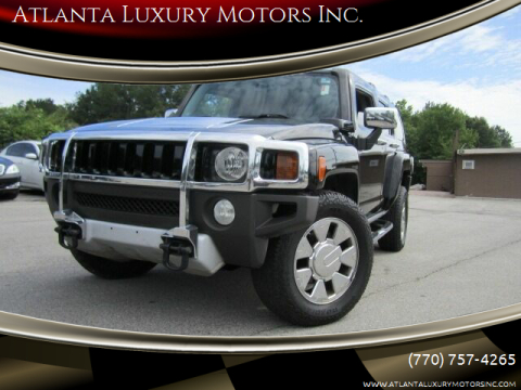 2008 HUMMER H3 for sale at Atlanta Luxury Motors Inc. in Buford GA
