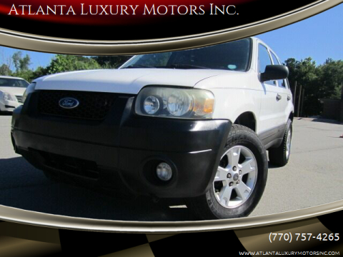 2007 Ford Escape for sale at Atlanta Luxury Motors Inc. in Buford GA