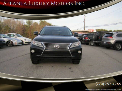 2014 Lexus RX 350 for sale at Atlanta Luxury Motors Inc. in Buford GA