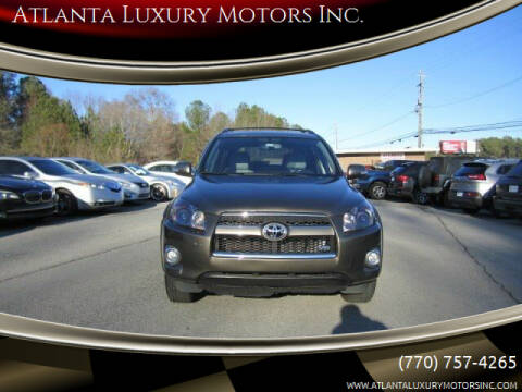 2011 Toyota RAV4 for sale at Atlanta Luxury Motors Inc. in Buford GA