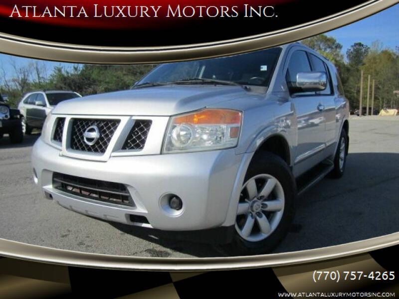 2010 Nissan Armada for sale at Atlanta Luxury Motors Inc. in Buford GA