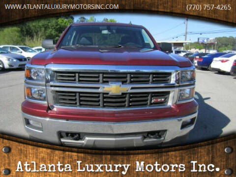 2014 Chevrolet Silverado 1500 for sale at Atlanta Luxury Motors Inc. in Buford GA