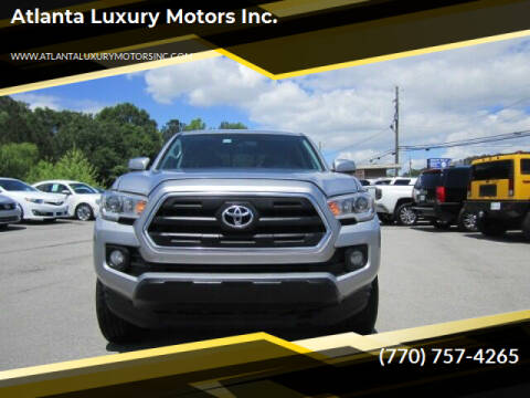 2016 Toyota Tacoma for sale at Atlanta Luxury Motors Inc. in Buford GA