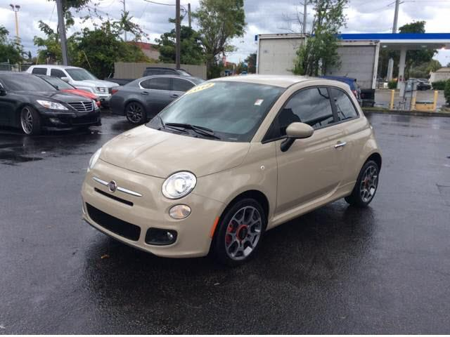 2012 FIAT 500 SPORT 2DR HATCHBACK unspecified abs brakes 4-wheelair conditioning - air filtrat