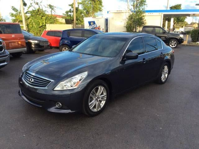 2013 INFINITI G37 SEDAN JOURNEY 4DR SEDAN blue 2013 infiniti g37 journey sedan full leather heate