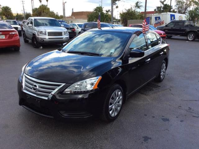 2014 NISSAN SENTRA SV black executive motors is a family owned and operated dealership that provi
