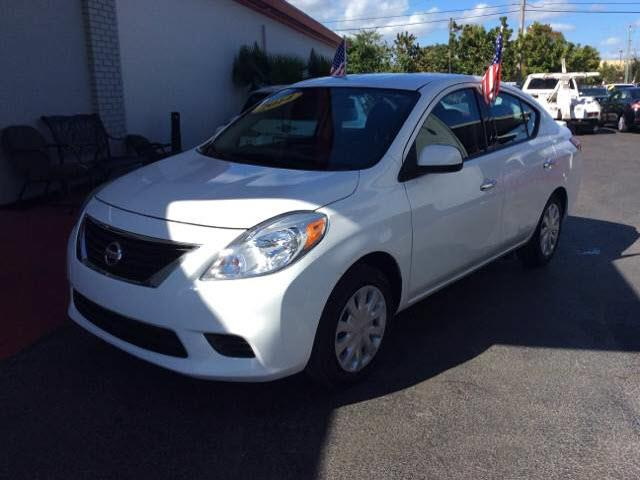 2014 NISSAN VERSA 16 SV 4DR SEDAN unspecified all our cars and trucks are doubled checked for yo