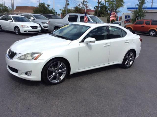 2009 LEXUS IS 350 BASE 4DR SEDAN unspecified abs brakes 4-wheelair conditioning - air filtrati