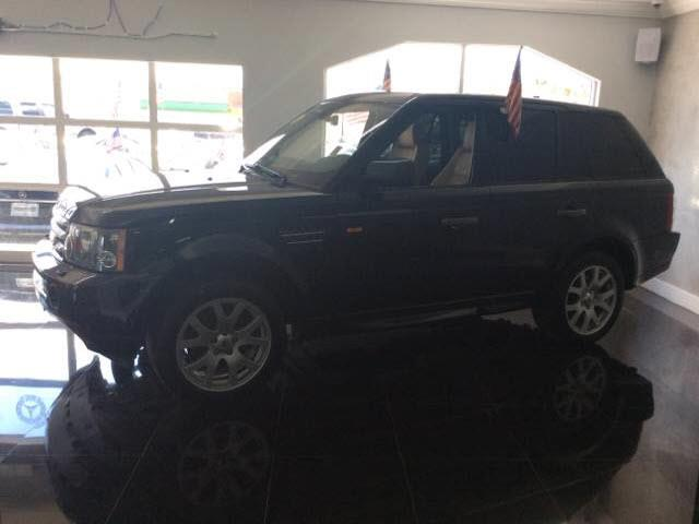 2008 LAND ROVER RANGE ROVER SPORT HSE blue executive motors is a family owned and operated dealer