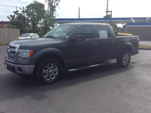 2013 FORD F-150 XLT gray executive motors is a family owned and operated dealership that provides