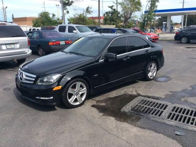2012 MERCEDES-BENZ C-CLASS C250 SPORT black executive motors is a family owned and operated deale