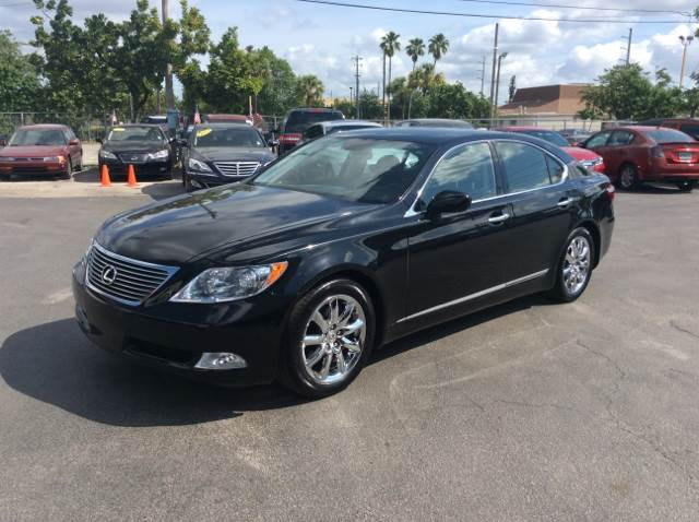 2008 LEXUS LS 460 BASE black one of a kind low low low miles  this car was pampered and garaged