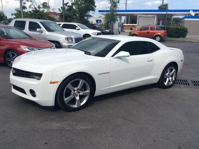 2011 CHEVROLET CAMARO LT 2DR COUPE W1LT off white car is super clean rs  pkg  executive motors