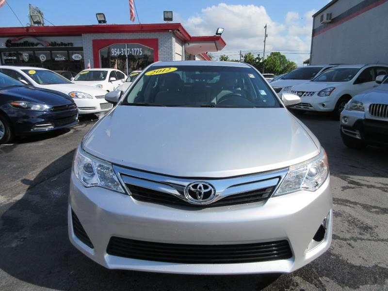2012 TOYOTA CAMRY L 4DR SEDAN unspecified all our cars and trucks are doubled checked for you to