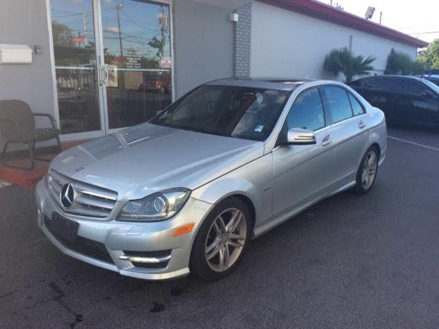 2012 MERCEDES-BENZ C-CLASS C250 SPORT 4DR SEDAN unspecified abs brakes 4-wheelair conditioning
