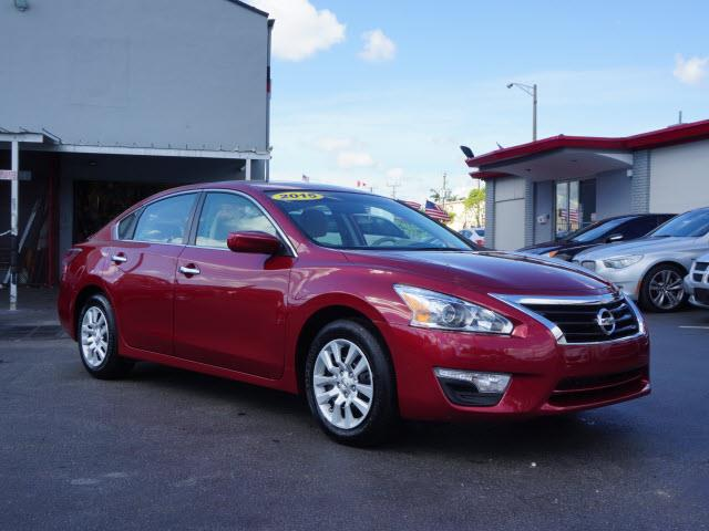2015 NISSAN ALTIMA S red all our cars and trucks are doubled checked for you to fall in love with