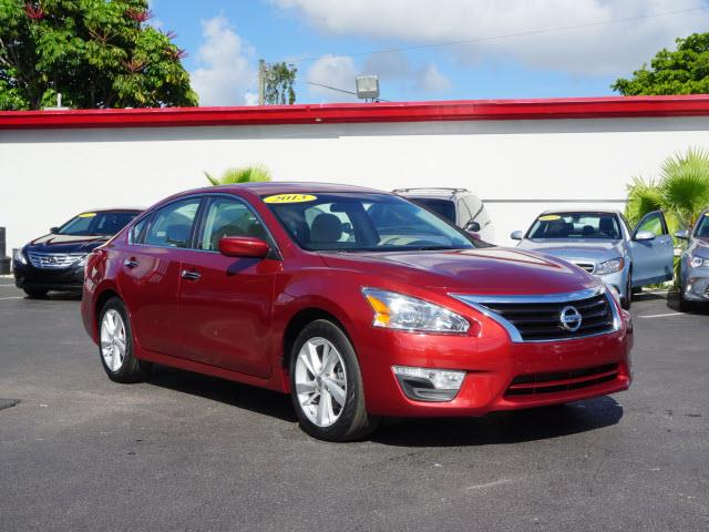 2013 NISSAN ALTIMA red remote startback up camera nice carall our cars and trucks are doubled c