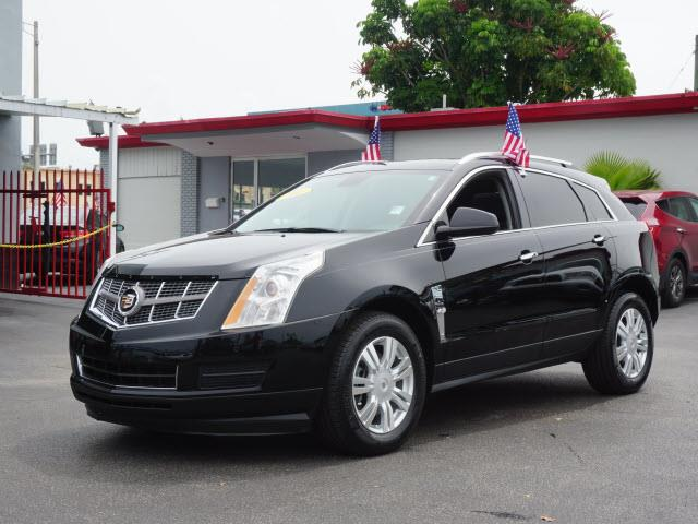 2011 CADILLAC SRX LUXURY COLLECTION 4DR SUV black class very nice youll love this on
