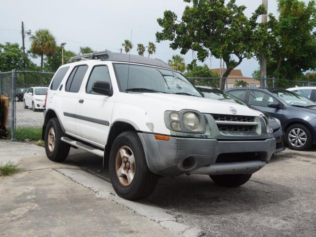 2003 NISSAN XTERRA white nice running car runs goodac cold just took in trade for newer nissan