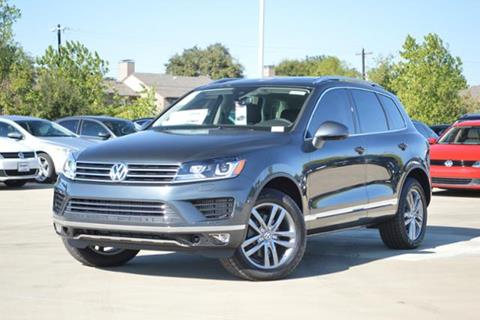 2016 Volkswagen Touareg for sale in Lewisville, TX