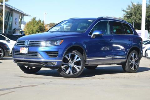 2017 Volkswagen Touareg for sale in Lewisville, TX