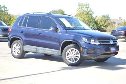 2015 Volkswagen Tiguan for sale in Lewisville, TX