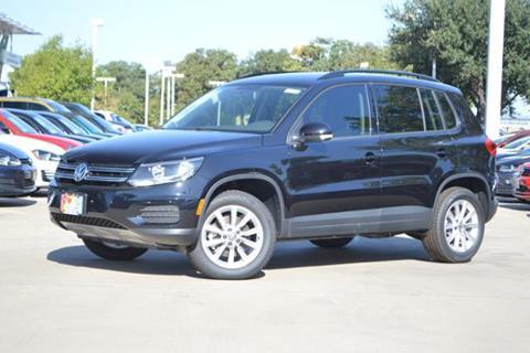 2017 Volkswagen Tiguan for sale in Lewisville, TX