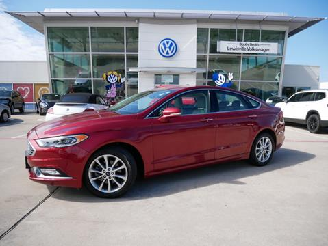 2017 Ford Fusion for sale in Lewisville, TX