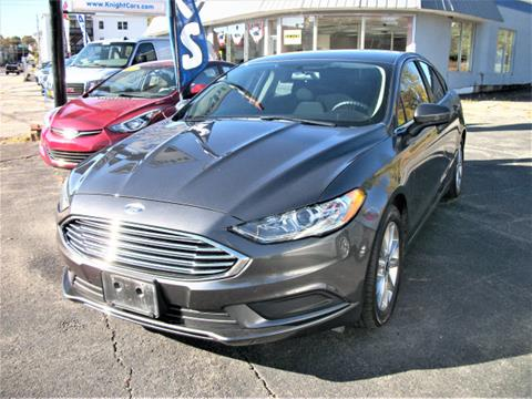 2017 Ford Fusion for sale at Knight Automotive in Southbridge MA
