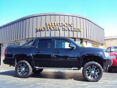 2012 Chevrolet Avalanche for sale in Clinton Twp, MI