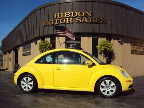 2008 Volkswagen New Beetle for sale in Clinton Twp, MI