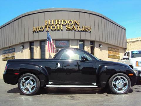 2005 Chevrolet SSR for sale at Hibdon Motor Sales in Clinton Township MI