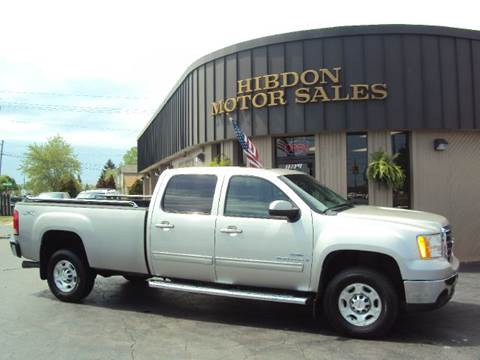2009 GMC Sierra 3500HD for sale at Hibdon Motor Sales in Clinton Township MI
