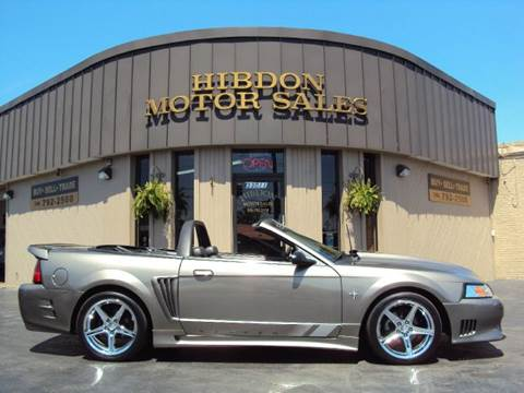 2001 Ford Mustang for sale at Hibdon Motor Sales in Clinton Township MI