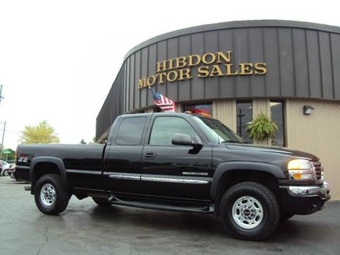 2004 GMC Sierra 2500HD for sale at Hibdon Motor Sales in Clinton Township MI