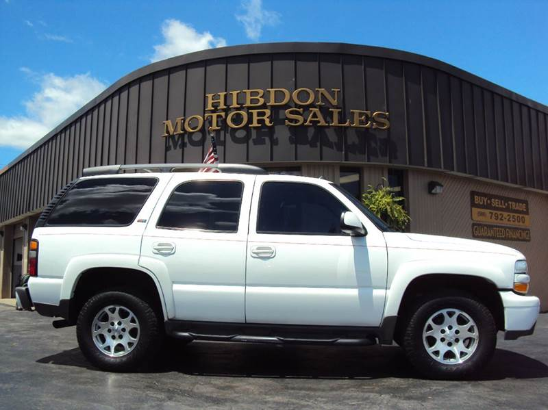 2005 Chevrolet Tahoe For Sale At Hibdon Motor Sales In Clinton Twp MI
