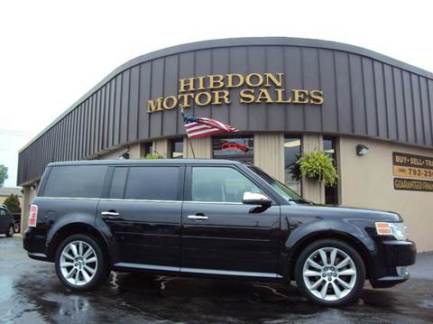 2010 Ford Flex for sale at Hibdon Motor Sales in Clinton Township MI