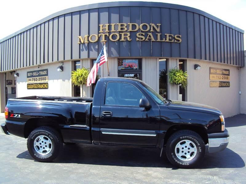 2003 Chevrolet Silverado 1500 for sale at Hibdon Motor Sales in Clinton Township MI