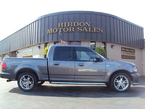 2002 Ford F-150 for sale at Hibdon Motor Sales in Clinton Township MI