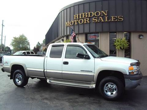 2001 GMC Sierra 2500HD for sale at Hibdon Motor Sales in Clinton Township MI