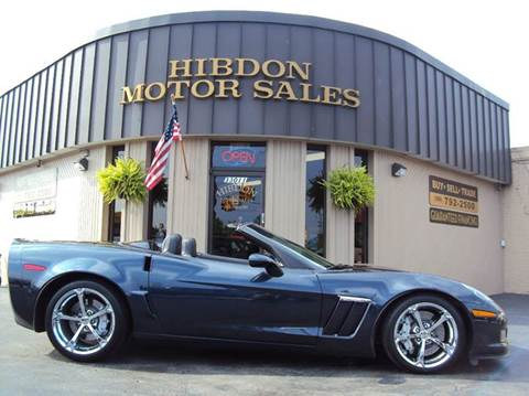 2013 Chevrolet Corvette for sale at Hibdon Motor Sales in Clinton Township MI