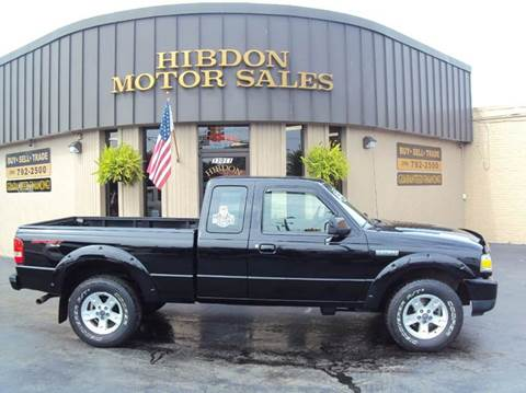 2006 Ford Ranger for sale at Hibdon Motor Sales in Clinton Township MI