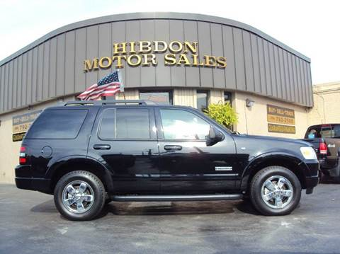 2008 Ford Explorer for sale at Hibdon Motor Sales in Clinton Township MI