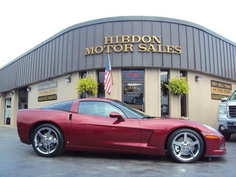 2007 Chevrolet Corvette for sale at Hibdon Motor Sales in Clinton Township MI