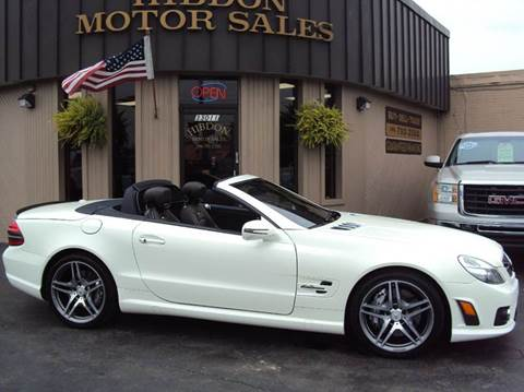 2009 Mercedes-Benz SL-Class for sale at Hibdon Motor Sales in Clinton Township MI