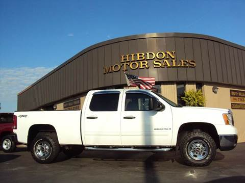 2009 GMC Sierra 2500HD for sale at Hibdon Motor Sales in Clinton Township MI