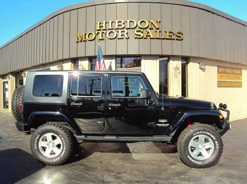 2009 Jeep Wrangler Unlimited for sale at Hibdon Motor Sales in Clinton Township MI
