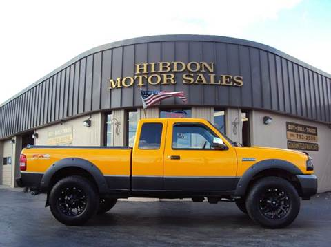 2008 Ford Ranger for sale at Hibdon Motor Sales in Clinton Township MI