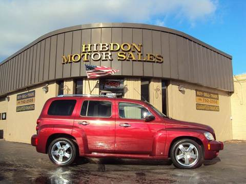 2009 Chevrolet HHR for sale at Hibdon Motor Sales in Clinton Township MI