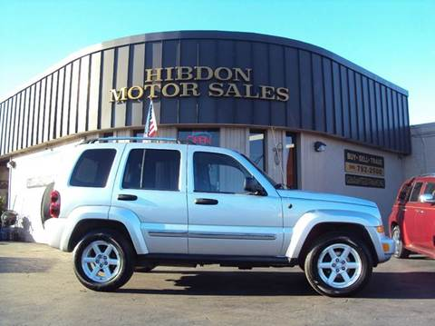 2007 Jeep Liberty for sale at Hibdon Motor Sales in Clinton Township MI